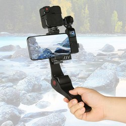 Handheld Remote Stabilizer Handheld Mobile PTZ Camera Anti-Shake Video Camera Electronic Stabilizer With Fill Light Micro-Lens