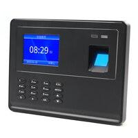 Biometrische Fingerprint Teilnahme Maschine TFT LCD Display USB Fingerprint Teilnahme System Zeit Clock Mitarbeiter Überprüfung-In Recor