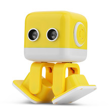 WL Tech Cubee F9 RC Amusement Educational Smart Robot Toy Infrared / Wifi APP Android RC Robot Hobby Gift for Children Kid(China)