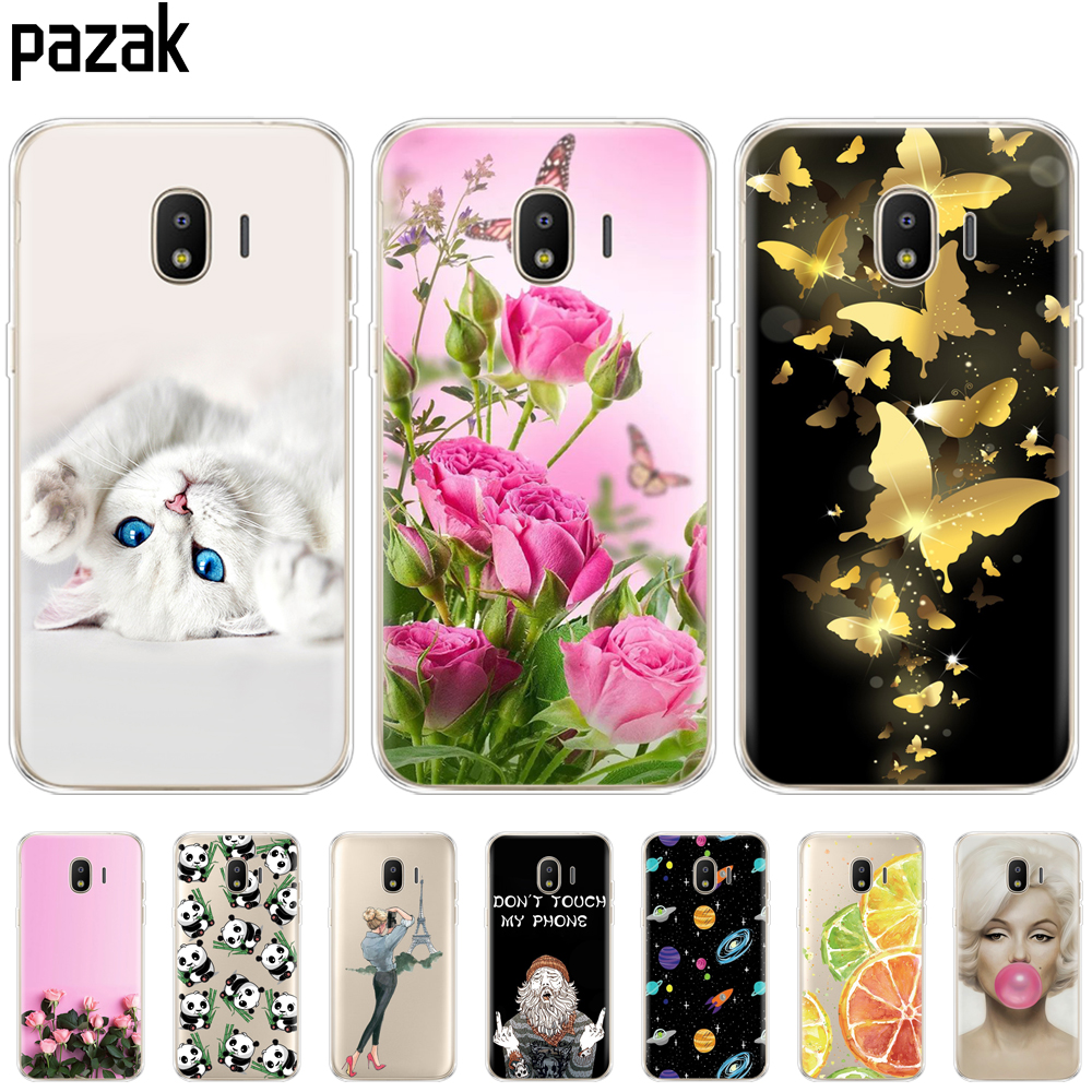Silicone Case For Samsung J2 Core Phone Cover For Samsung Galaxy J2 Core 2018 J 2 SM-J260F J260F J260 Case Bumper Transparent