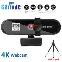 2k 4k webcam conferência pc webcam autofoco usb web câmera portátil desktop para kantoor vergadering thuis encontrou mic 1080p hd completo