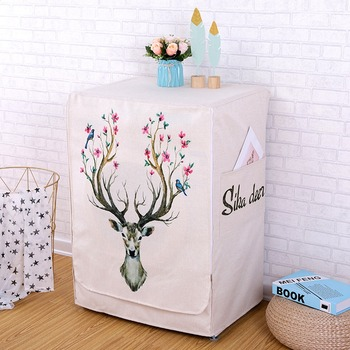 Washing Machine Covers Made Of High Quality Cotton linen Material For Home Accessories
