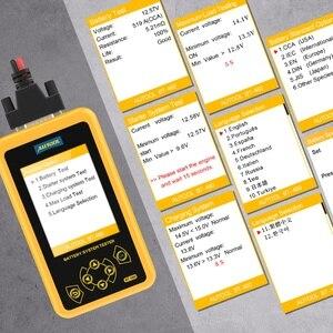 Image 5 - AUTOOL BT460 Car Battery Tester Digital Analysis Instruments CCA AGM GEL Auto Battery Analyzer 12V 24V Diagnostic Tool For Truck