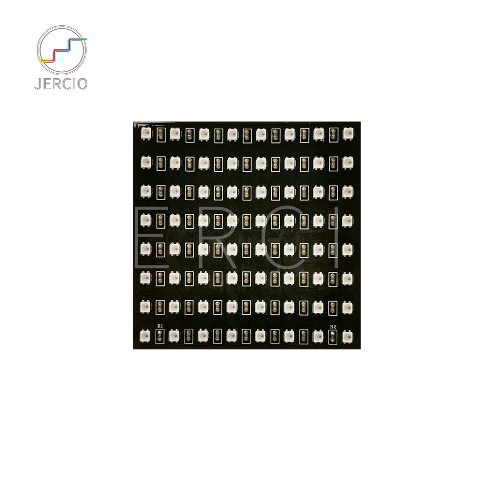 JERCIO XT1511-MINI-D Like ws2812b SMD2427 8*8/8*32/16*16/22*22/11*44 LED Individually Addressable DC5V Pixels Panels