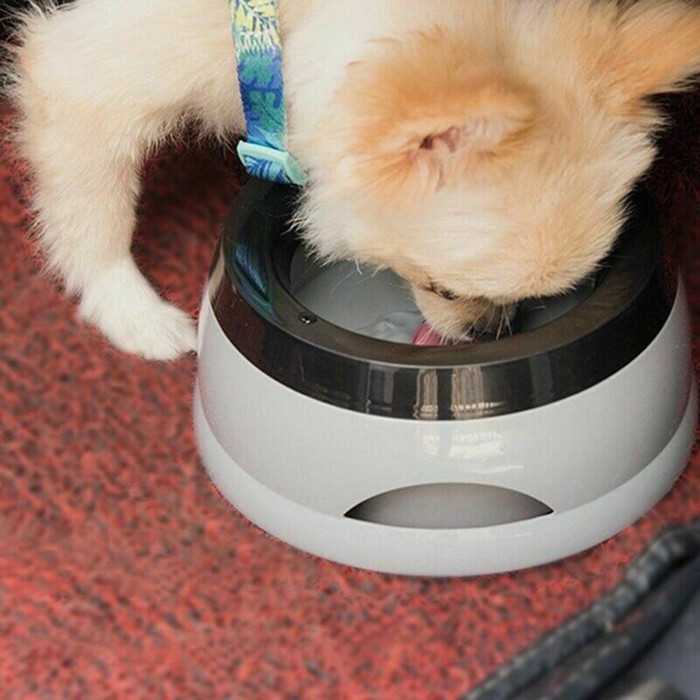 Dog Bowl Non-Wetting Pet Mouth Bowl Splash-Free Cat Bowl Without Spill Drinking Water Portable Pet Bowl