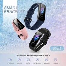 купить High Quality Fashon Sport Smart Wrist Strap Band For Huawei Honor Band 5 Smart Bracelet Watch Heart Rate Monitor Fitness Tracker дешево