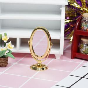 Dongzhur мини макияж зеркало Miniaturas 1:12 Кукольный дом туалетный кукольные аксессуары стола игрушечное зеркало модель мебели кровати R4E7