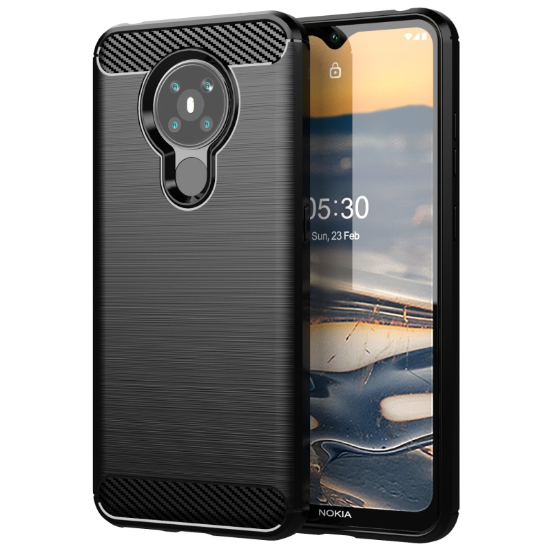 Cases & Covers Electronics & Photo Nokia 5.3 Clear Case Slim Soft ...