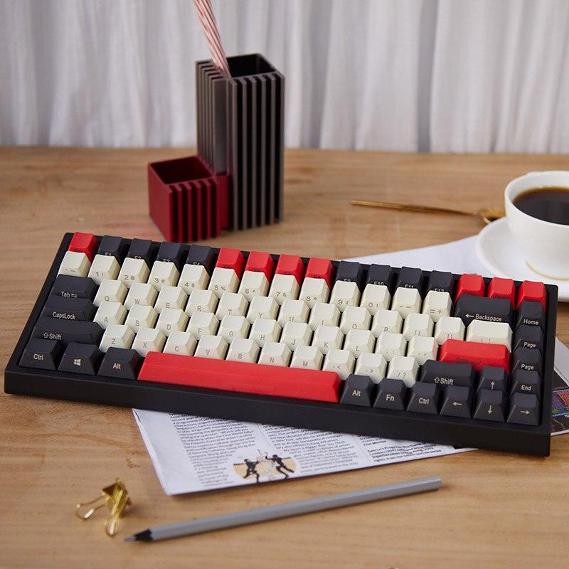 Keycool Equator 84 Mini Mechanical Gaming Keyboard Cherry MX Switch 80/% Layout Tenkeyless Keyboard 84 Keys Gaming /& Office Cherry MX Black