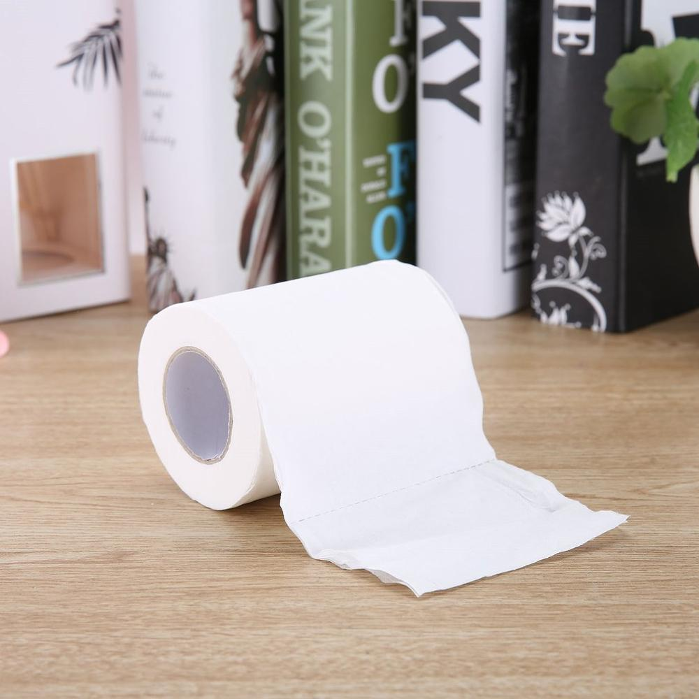2020 1 Roll Natural Paper Towels Portable High Quality Toilet Paper For Office For Family Restaurant English Packaging