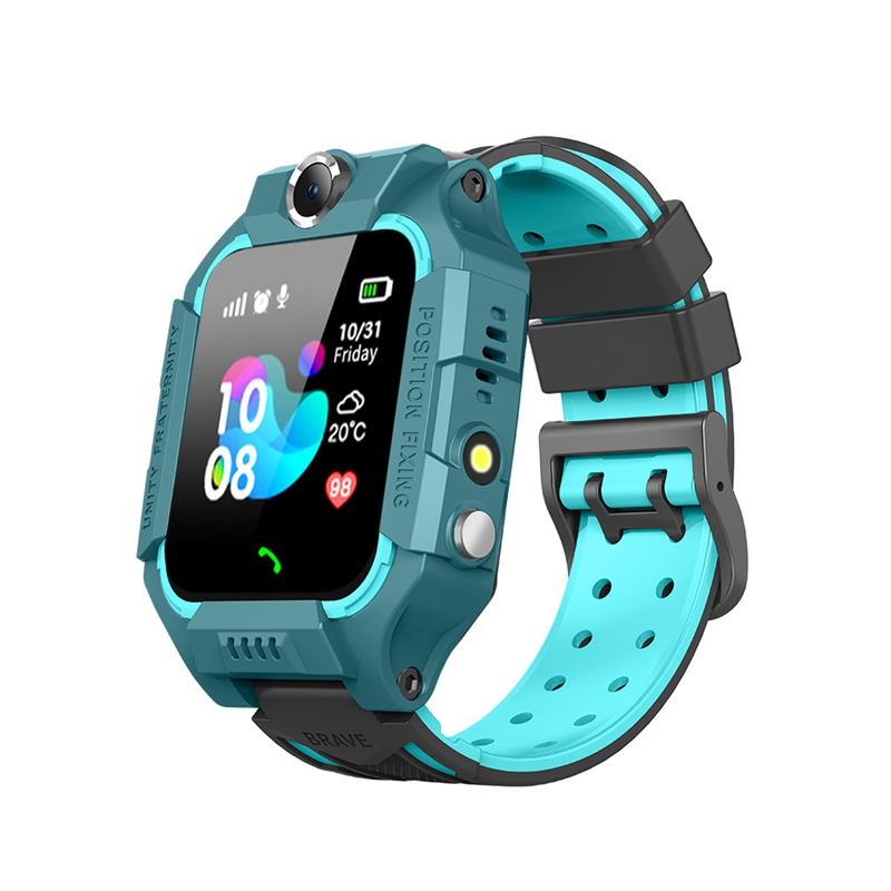 FULL-New Photo Children's Smart Watch Phone Watch Smart Positioning Waterproof Watch 6 Generation Multi-Language Phone Answering