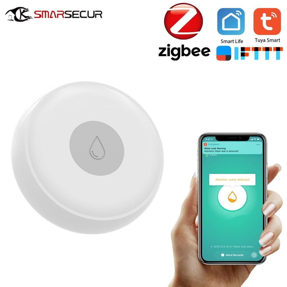 Wireless Water Immersing Sensor Zigbee Water Leakage Detector for Home Remote Alarm Security Soaking Sensor Smart Home