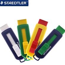 1PCS STAEDTLER Eraser 525 PS1 Telescopic Pushable Student Color Rubber Art Design Replaceable Core Eraser
