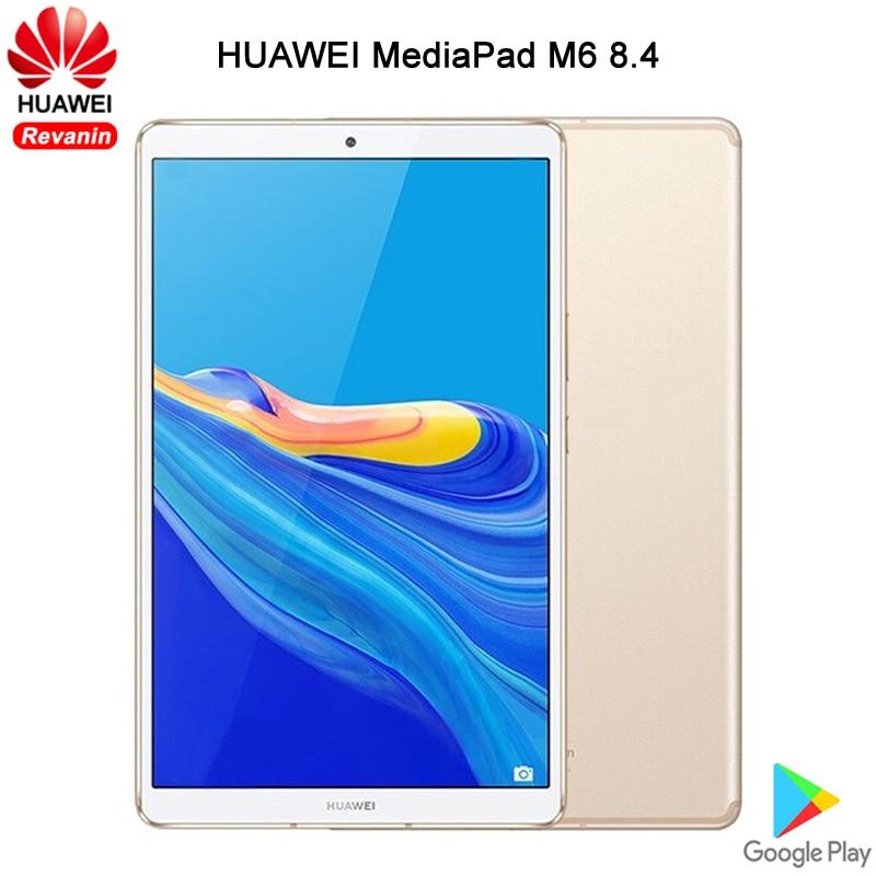 Original huawei mediapad m6 8.4 polegada tablet kirin 980 octa núcleo android 9.0 ips tela 2560x1600 6100mah tipo-c 13.0mp câmera