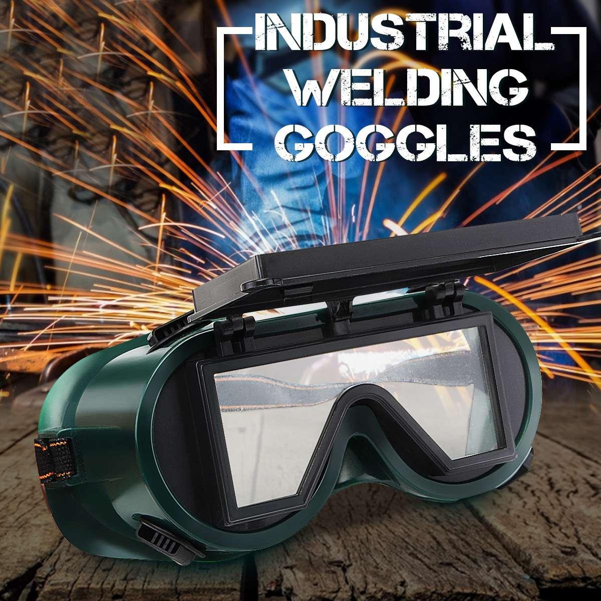 Solar Auto Darkening Welding Helmet Eye Protection Glasses Industrial Welder Cap Goggles Machine Soldering Mask Welding Tools