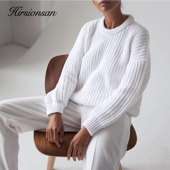 Hirsionsan Loose Autumn Sweater 3