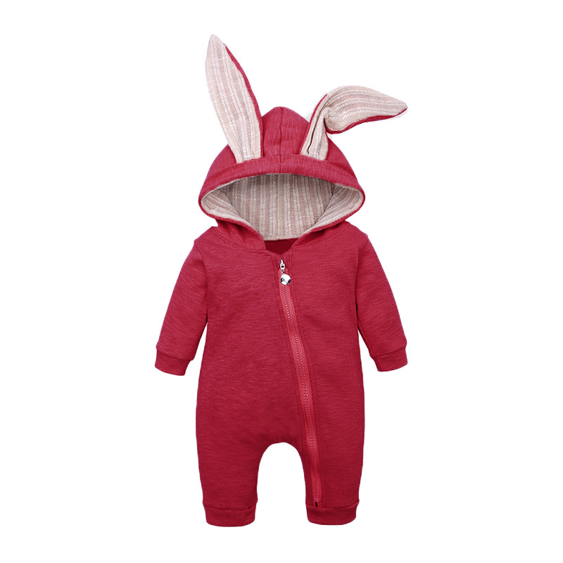 2019 Autumn Winter Newborn Baby Clothes Baby Girl Clothes   Rompers   Kids Costume For Boy Infant Overalls Jumpsuit 3 9 12 18 Month