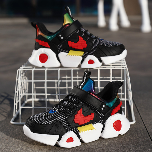 Children Sneakers Boys Kids Girls Leisure Travel Shoes New Spring Autumn Sports Running Shoes Fashion Breathable   Mesh 2