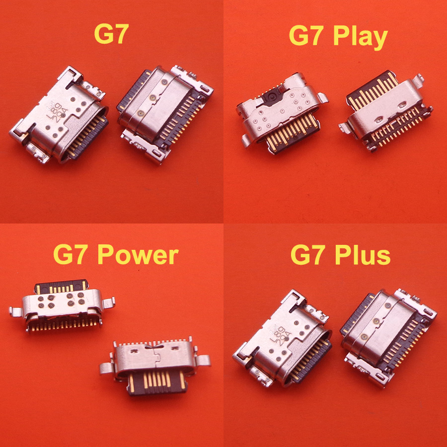 20pcs USB Charging Port Connector Plug Socket Dock Repair Part For Motorola MOTO G7/G7 Plus/G7 Power/G7 Play