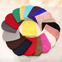 Осенне-зимняя шапка; детская вязаная шапка; шерстяная шапка для родителей и ребенка; осенне-зимняя теплая одежда ярких цветов