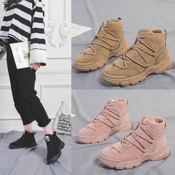 2019 new wild England wind Martin boots thick-soled boots net red casual shoes women 29