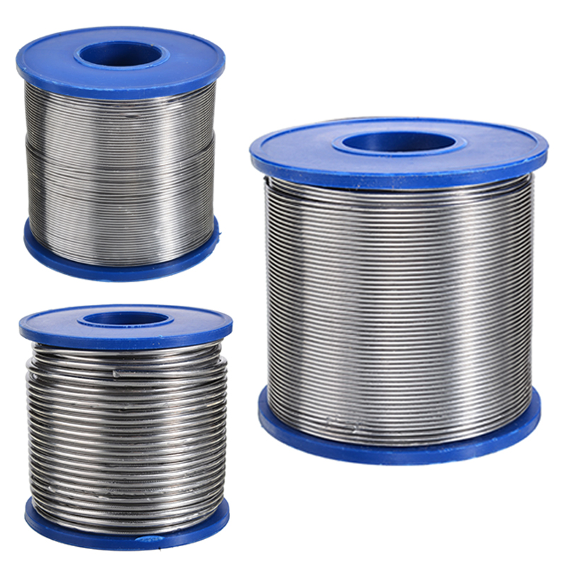 1Pcs 500g Tin Lead Rosin Core Solder Wire 0.7mm 0.8mm 2.0mm 2% Flux Reel Welding Line Solder Wire Clean Rosin Core
