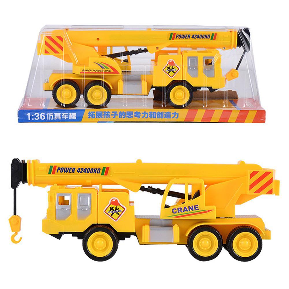 HobbyLane Simulated Engineering Crane Mini Construction Car Model Toy Classic Gift For Children