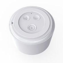 2019 Round Portable Mini Wireless Bluetooth Speaker Subwoofer Smart Voice Control Portable Bluetooth Speaker 5.0