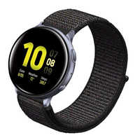 22mm 20mm Nylon Loop Strap For Samsung Gear S3 S2 Band Galaxy 46mm 42mm Active 2 44mm 40mm For Xiaomi Huami Amazfit Sport/ Bip