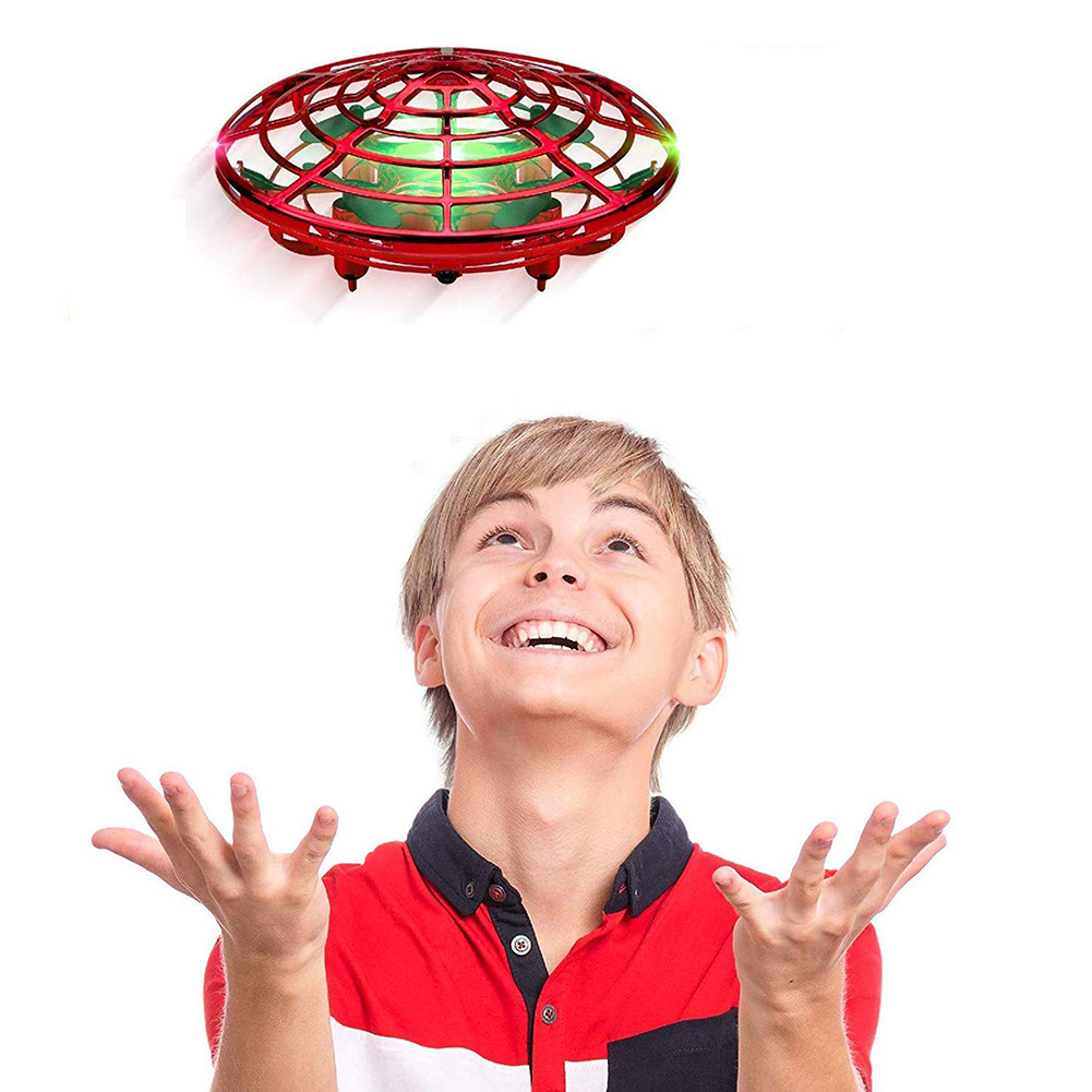 Mini RC Helicopter UFO RC Drone Infraed Hand Sensing Aircraft Electronic Model RC Quadcopter RC Toys For Children Brithday Gifts
