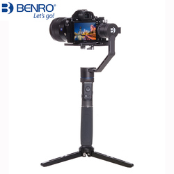 Benro R1 Professional Handheld 3-axis stabilizer for camera and mobile phone Gimbal anti-shake Multifunction Stabilizer