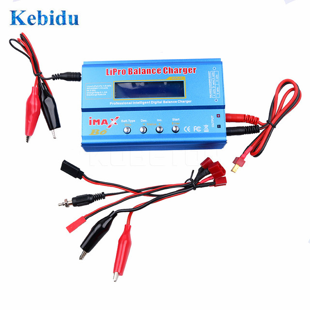 KEBIDU  iMAX B6 Lipro NiMh Li ion Ni Cd RC Battery Balance Digital Charger for NiMH NiCd Battery 60W Max