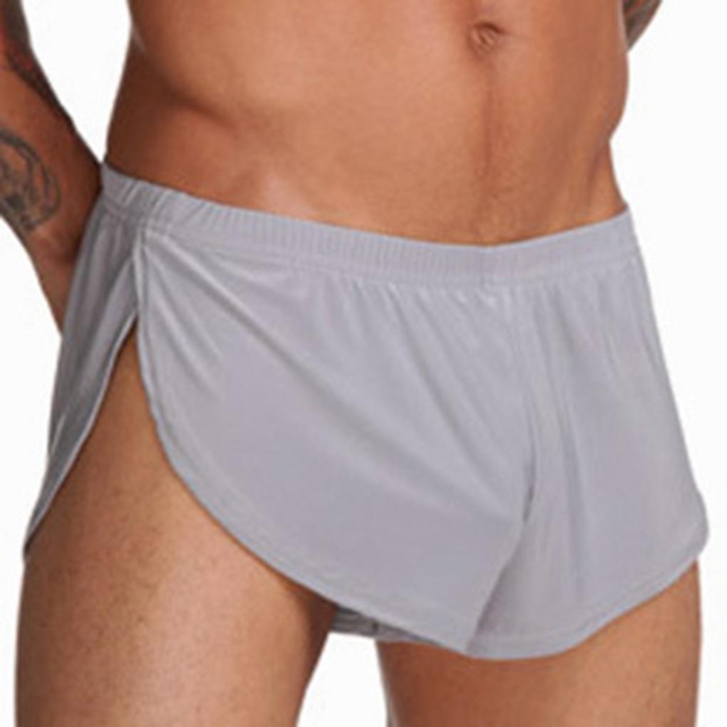 Men Loose Underpants Comfortable Boxer Shorts U Convex Pouch Male Sexy Underwear