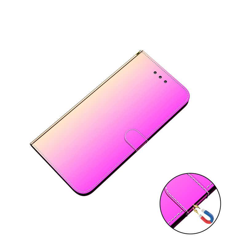 Étui de luxe pas cher pour Nokia 2.2 6.2 7.2 Funda téléphone accessoires miroir-like carte housse Etui portefeuille en cuir 2.2 étui