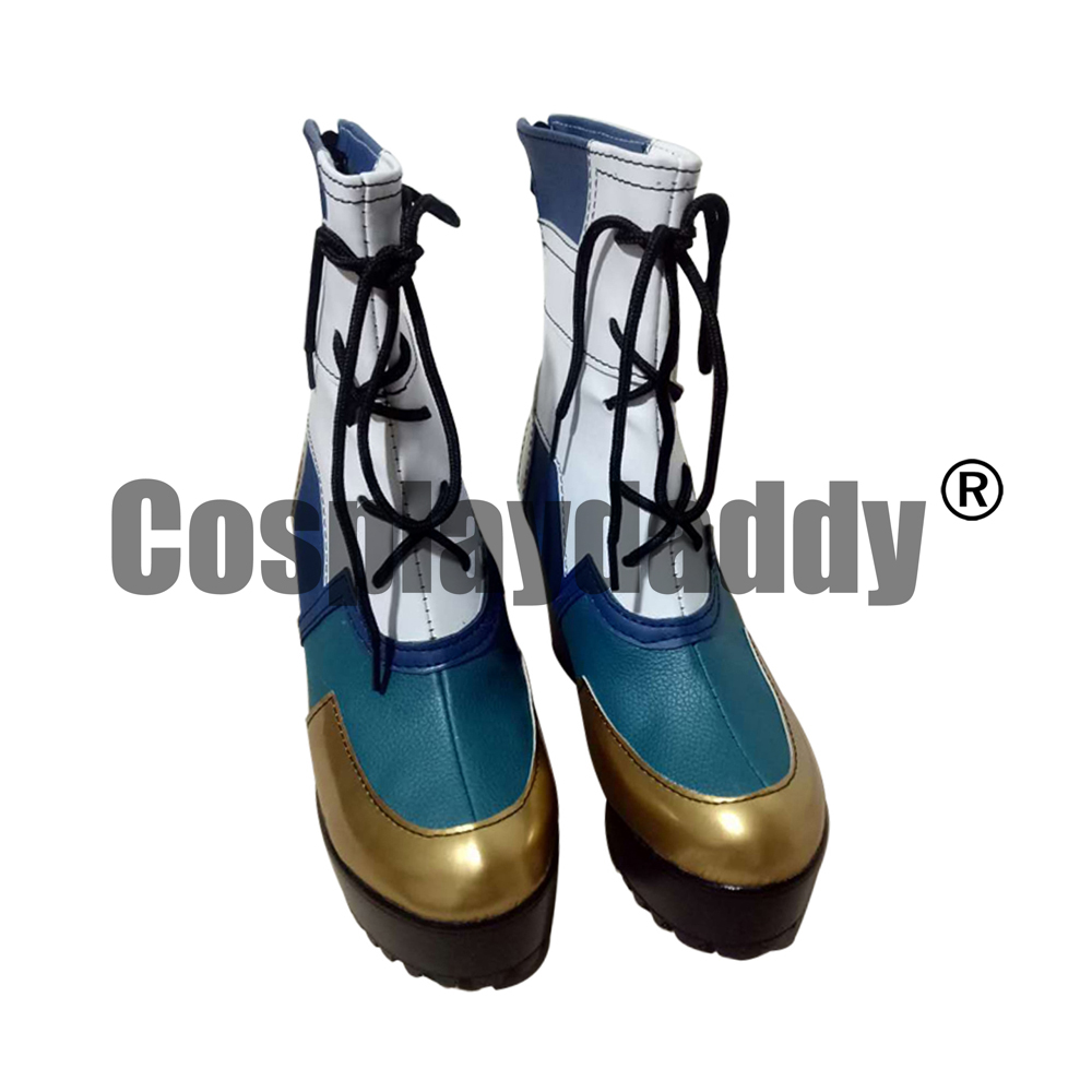 LOL Ixtal Yunalai Qiyana Yun Tal Empress Of The Elements True Damage Qiyana Prestige Edition Ver. Game Cosplay Shoes Boots S008