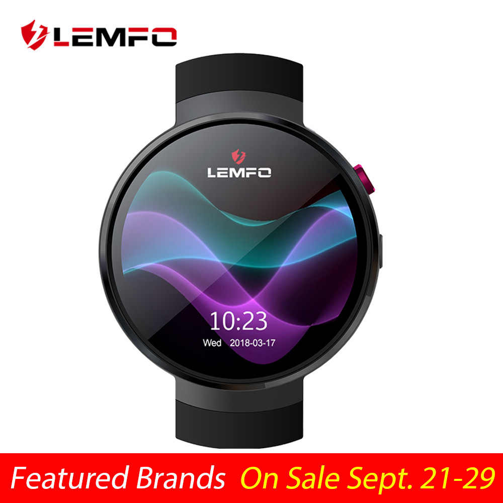 LEMFO LEM7 Smart Watch Android 7.1 Smartwatch LTE 4G Smart Watch Phone Heart Rate 1GB + 16GB Memory with Camera Translation tool