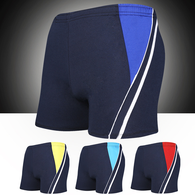 Swimming Trunks Boxer Loose-Fit Men Fashion-Mixed Colors Industry Quick-Dry Adult Spa Resort Swimming Suit Yk1759