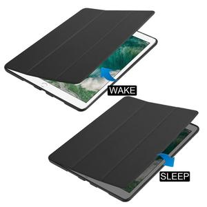 Image 3 - Tablet Case for Ipad Air 3 10.5 Silicone Cover for Ipad 10.5 with Pencil Holder PU Leather Magnetic TPU Shell for Ipad 2019
