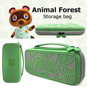Image 4 - 動物の森 ns 収納ニンテンドースイッチハードケース ns lite コンソールポータブル旅行バッグシェルポータブル収納コレクション
