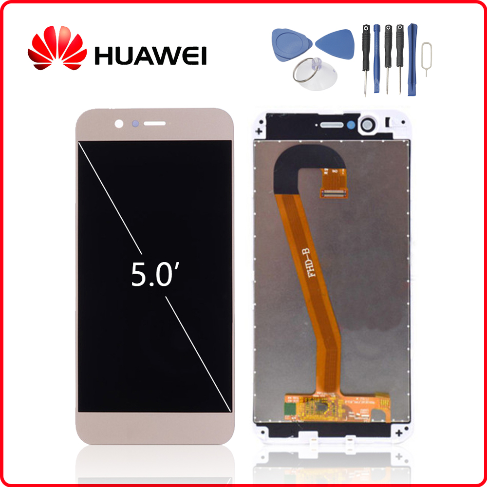 HUAWEI Original Nova 2 LCD Display Touch Screen Digitizer For Huawei Nova2 Display with Frame Replacement PIC AL00 PIC TL00-in Mobile Phone LCD Screens from Cellphones & Telecommunications on