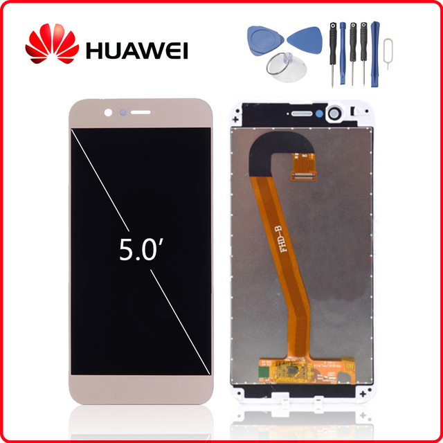 HUAWEI Original Nova 2 LCD Display Touch Screen Digitizer For Huawei Nova2 Display with Frame Replacement PIC AL00 PIC TL00