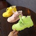 2019 новые осенние детские ботиночки ярких цветов для мальчиков и девочек  детская повседневная спортивная обувь для улицы