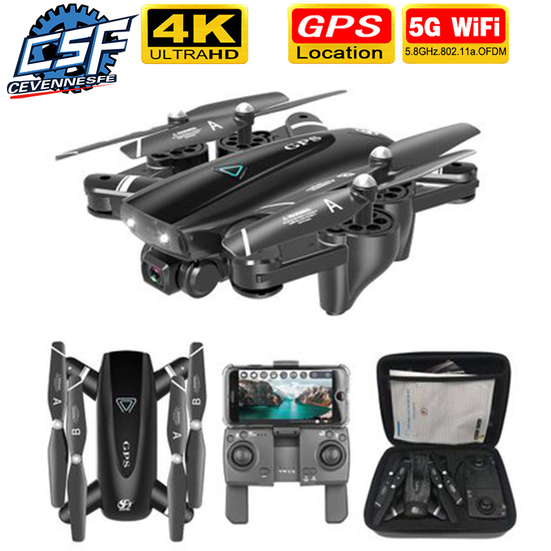 2020 NEW RC Drone 4k HD Camera GPS Drone 5G WiFi FPV 1080P No Signal Return RC Helicopter Flight 25 Minutes Quadcopter Drone
