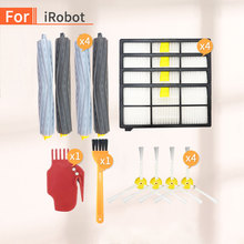 For iRobot Roomba 800, 865, 860, 870, 871, 880, 896, 960, 965, 980 Vacuum Kit Supplementary Extraction Filter Side Brush