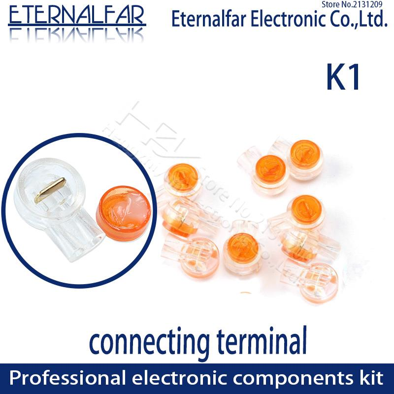 Rj45 Connection Terminals K1 Connector Crimp Connector Waterproof Wiring Ethernet Cable Telephone Cord Terminals