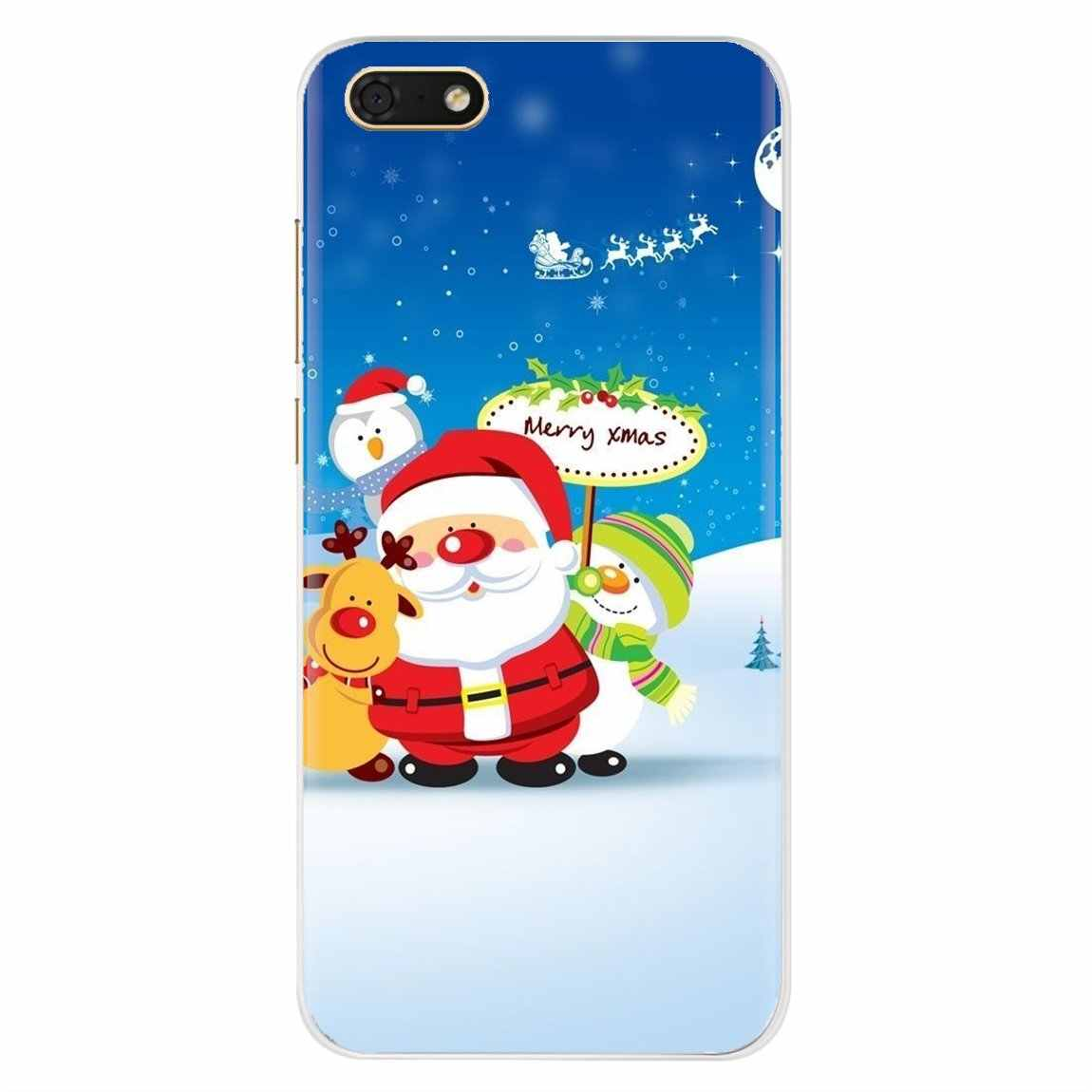 Personalized Silicone Phone Case For Motorola Moto G G2 G3 X4 E4 E5 G5 G5S G6 Z Z2 Z3 C Play Plus Christmas New Years