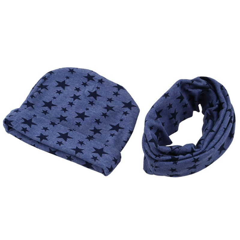 Baby Hat And Scarf Set, Beanie Hat With Snood Scarf Neck Warmer For Infant Kids