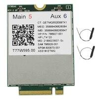 Lt4120 X5 LTE T77W595 796928-001 4G WWAN M.2 150Mbps LTE 모뎀 HP Elite X2 840 850 G3 640 650 645 G2 실버
