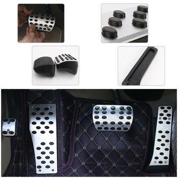 Interior Pedal de pie de plata piezas de freno para automóvil para Mercedes-AMG W202 W203 W124 W210 W211 W219 Clase E