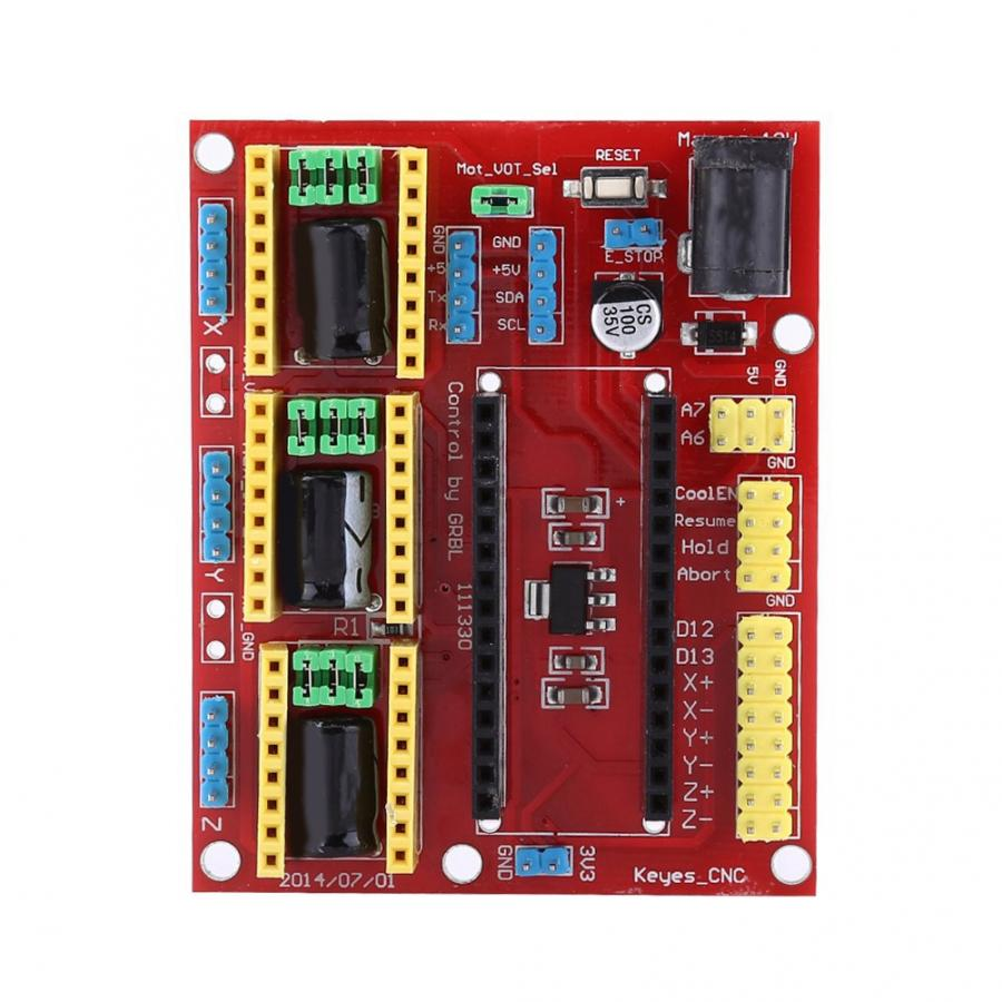 V 3.0 Graveur CNC-Schild Board A4988 Schrittmotor Treiber für